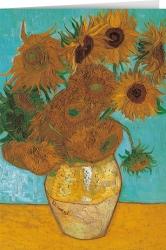 Vincent van Gogh - Vase with twelve sunflowers (1888)