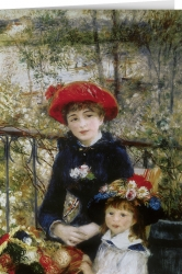 A. Renoir - Two sisters on the terrace