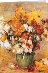 Auguste Renoir - Chryanthemums (1885)
