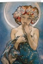 Alphonse Mucha - The Moon and the Stars (1902)