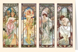 Alphonse Mucha - The Times of the day (1899)