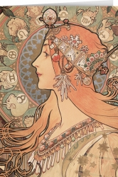Alphonse Mucha - The feather (1896)