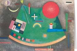 Wassily Kandinsky - Fleche vers le cercle (1930)