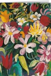 August Macke - Carpet of Flowers (1913)