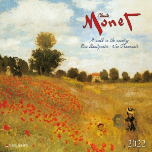 Claude Monet - A Walk in the Country 2022