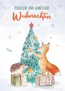 Friedliche und gem�tliche Weihnachten