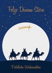 Folge Deinem Stern - Fröhliche Weihnachten