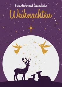 besinnliche und himmlische Weihnachten