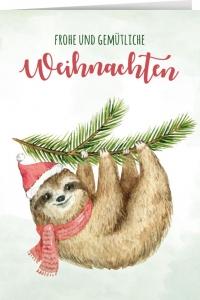 Frohe und gemütliche Weihnachten