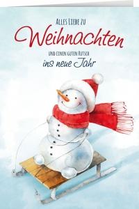 Alles Lliebe zu Weihnachten und einen guten Rutsch...
