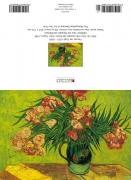 Vincent van Gogh - Stilleben- Vase mit Oleander und Büchern