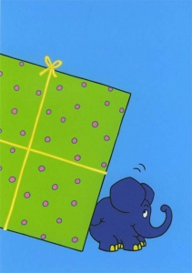 Elephant with Present Part 2