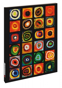 Wassily Kandinsky, Farbstudie Quadrate, 1913