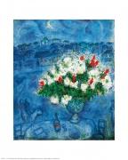 Marc Chagall - Der weihnachtliche Rosenstrauss
