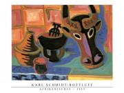 Karl Schmidt-Rottluff - Afrikanisches