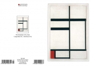 P. Mondrian - Composition no. 1 with red