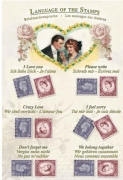 Language of Stamps