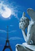 Mond über Paris