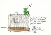 Der Frosch war krank...