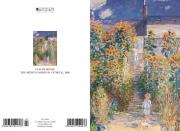 Claude Monet - The artists garden in Vetheuil