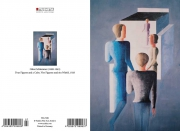 O. Schlemmer - Four Figures and a cube