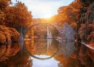 Rakotzbrücke, Devil\'s Bridge, Kromlau