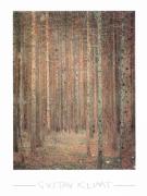 Gustav Klimt - Tannenwald