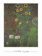 Gustav Klimt - Bauerngarten mit Sonnenblumen