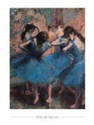 Edgar Degas - Danseuses en bleu