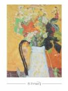 Pierre Bonnard - Blumenstrauss in weißem Krug