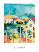 August Macke - Saint Germain bei Tunis