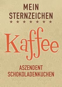 Sternzeichen Kaffee